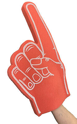 Economy Size Palm Printed Giant Foam Hand Pointy Finger