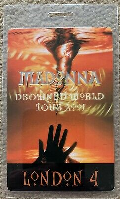 Madonna - Official Drowned World Tour Laminate - London 4