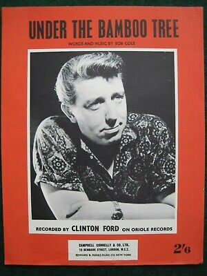 """""""under The Bamboo Tree""""    Clinton Ford.   Sheet Music."""