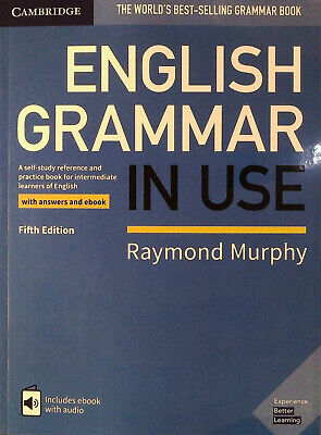 Cambridge ENGLISH GRAMMAR IN USE with Answers &extras FIFTH Edition R Murphy NEW