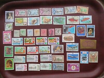 50  BAHAMAS  STAMPS  (all eras)