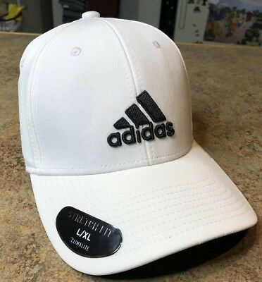 New Adidas Men s Climalite Gameday Stretch Fit Baseball Hat L XL 8cc834af921b