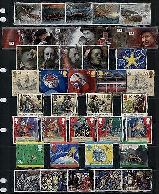 Gb Great Britain Complete Sets For 4 Years 1992/1993/1994/1995 U/m/mint Mnh