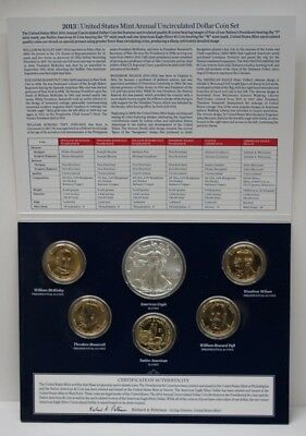 2013 United States Mint Annual Uncirculated 6 Dollar Coin Set 89079h