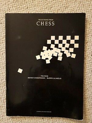 Selections from Chess Tim Rice Benny Andersson Bjorn Ulvaeus