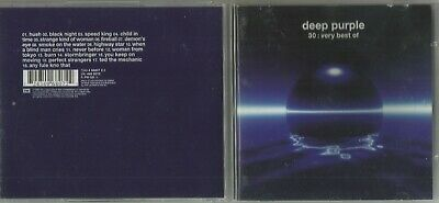 DEEP PURPLE 30th ANNIVERSARY COLLECTION VERY BEST OF CD
