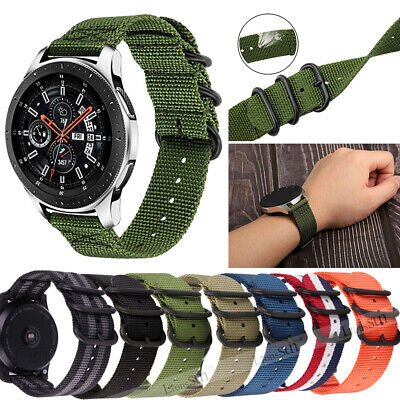 Quick Release Fabric Nylon Watch Strap Band Buckle Replacement Belt 18 20 22mm