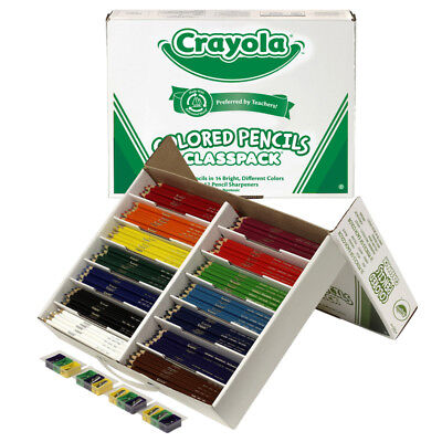 Crayola Colored Pencils 462 Ct Classpack 14 Colors 8462