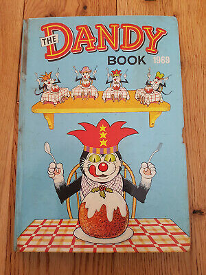 The Dandy Book 1969 - Vintage Comic Annual – Good Condition - see photos