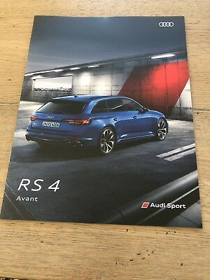 Catalogue AUDI RS4
