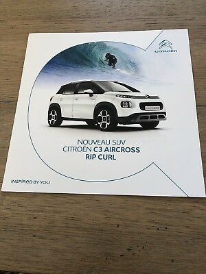 Catalogue CITROËN C3 AIRCROSS RIP CURL