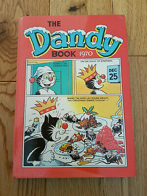 The Dandy Book 1970 - Vintage Comic Annual – Very Good Condition