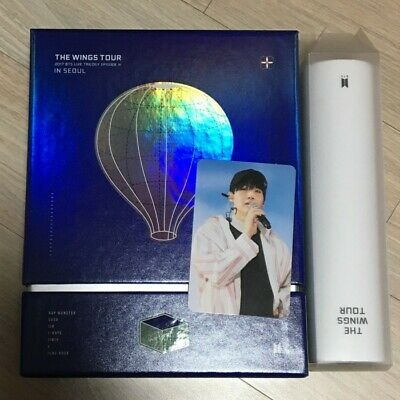 BTS 2017 The Wings Tour In Seoul DVD Live Trilogy Episode III Set SUGA PC