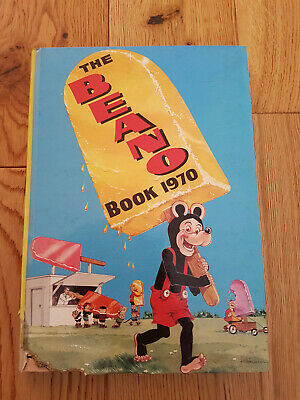 The Beano Book 1970 - Vintage Comic Annual – Good Condition