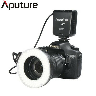 Aputure Amaran Halo LED Lighting Solution AHL-HN100 CRI 95+ Camera Ring Flash