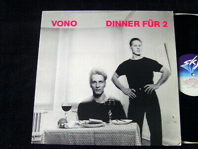 "Vono ""Dinner Für 2"" Original Sky Records Minimal Synth Electronic Near Mint"