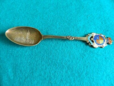 Vintage Old Toronto City Hall Sterling Silver Spoon 135 mm Long .925 25 Grams
