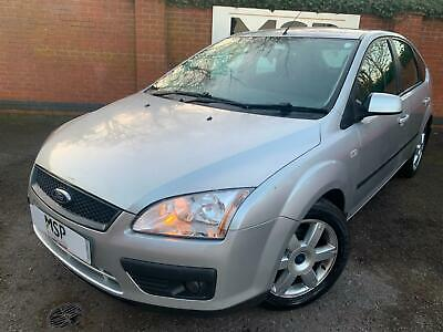 2006 56 Ford Focus 1.6 TDCi Sport 5dr Silver ONE FORMER OWNER FROM NEW