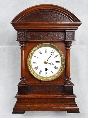 Antique Bracket Clock , Very rare , Victorian ?