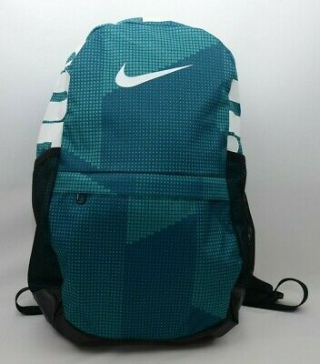 63da34fc7566 Nike Brasilia Just Do It Youth Backpack Blue Green BA5755 381 New with Tags