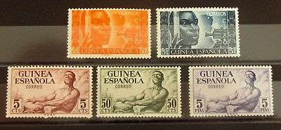 GUINEA - SPAIN COLONIES Stamps Set - Mint MLH - VF - r12e5271