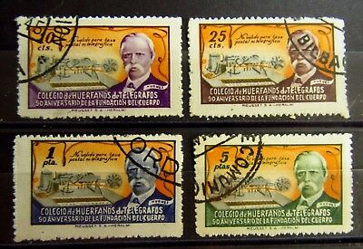 SPAIN TELEGRAPH Old Stamps Set  - Used - VF - r50e6297