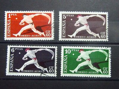 SPAIN - Old Stamps Set - SPORT-  Used - VF- r12e5300
