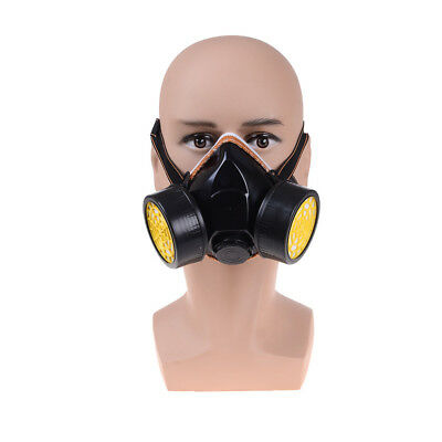 Anti-Dust Spray Chemical Gas Safety Dual Cartridge Respirator Paint Filter Masks