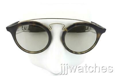 a1e844270d393 New Ray Ban GATSBY I Matte Tortoise Gold Mirror Sunglasses RB4256 6092 5A  Small
