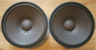 """Pair Stage Accompany SA1513 Vintage 15"""" Low Frequency Speakers (as JBL 2235H) #1"""
