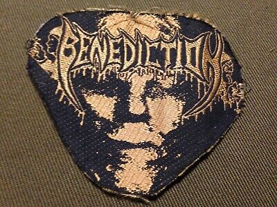 BENEDICTION orig 1995 AUFNÄHER Vintage Death Metal PATCH Gorguts Dismember Sodom