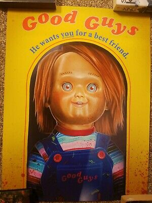Childs Play Chucky Mondo Style Limited Print XX/50 signed and numbered
