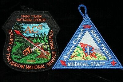 2008 Arrow Corp 5 Patch and Medical Staff Patch