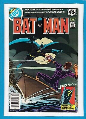 "Batman #306_Dec 1978_Very Fine+_""black Spider_Back From The Grave""_Bronze Dc!"