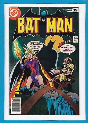 "Batman #299_May 1978_Very Fine_""the Ghost Of Batman""_Bronze Age Dc!"
