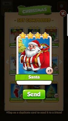 Coin master Santa Card( Fastest Delivery )