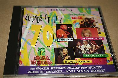 Sounds Of The 70's - Disc 1 Only (CD Album) Used Very Good