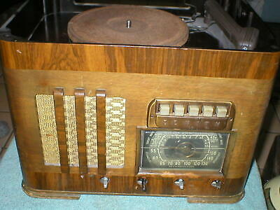 Vintage Zenith Radio/Phono Model 6S580 For Parts or repair only
