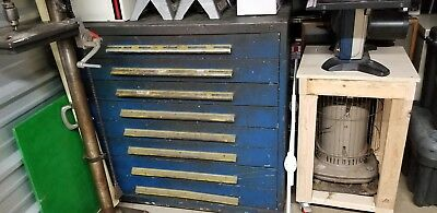Used (Vidmar?) 8 drawer tool cabinet industrial storage, craftsman chest box