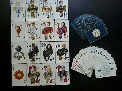 Vintage Deck Of Playing Cards.great Deck.(Unused=Mint)