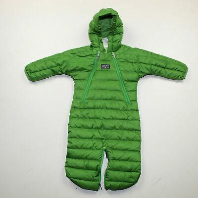 320bb8ccb PATAGONIA INFANT HI-LOFT Down Sweater Bunting Size 0 months - $23.50 ...