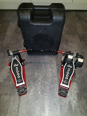 DW 5000 double bass drum pedal with moulded case
