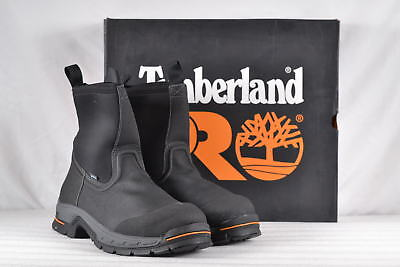 super cheap compares to classic style 2018 shoes MEN'S TIMBERLAND PRO Stockdale Pull On Alloy Toe Boots Black 15W