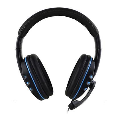 Wired Gaming Headset Stereo Surround Headphone 3.5mm Mic For PS4 Laptop PC