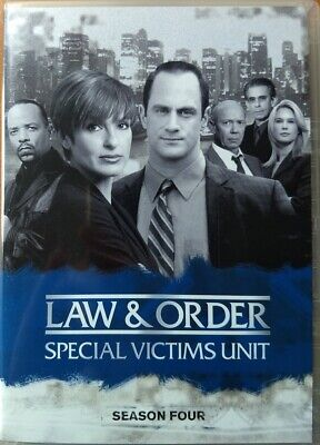 Law And Order SVU Special Victims Unit Season 4 (DVD, 2007, 6-Disc Set)