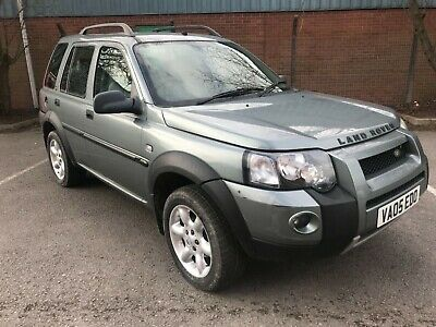 Land Rover Freelander 2.0 Td4 Hse station wagon 5dr (spares or repairs)