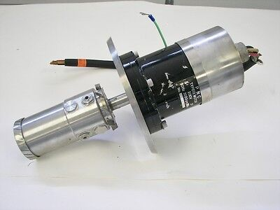High Vacuum 3000RPM Research Chamber 3Phase PNC Motor with Stainless Spinner