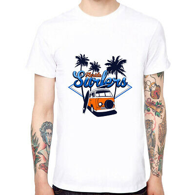 Florida Holiday Men's Cotton Soft Funny Cool T-shirts Short Sleeve Tops Tee