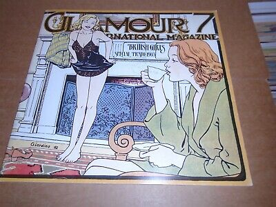GLAMOUR INTERNATIONAL MAGAZINE #7 Large Format Comics Manara etc.