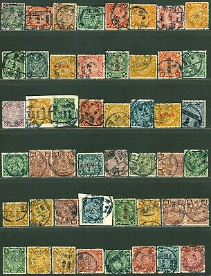 Lot of 48 Coiling dragon stamp various cds dater chops cip china